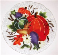 Fall Harvest 12 inch Plate
