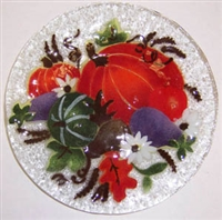 Fall Harvest 9 inch Plate