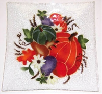 Fall Harvest Large Square Platter