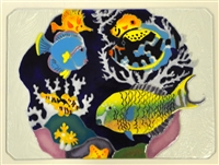 Tropical Fish Large Blue Tray (Insert Only)
