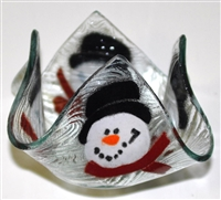 Frosty Small Candleholder