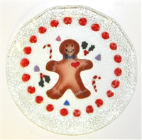 Gingerbread 12 inch Plate