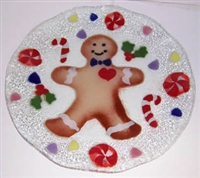 Gingerbread 14 inch Plate