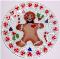 Gingerbread 9 inch Plate
