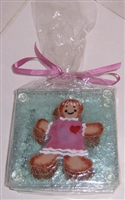 Gingerbread Girl Coasters