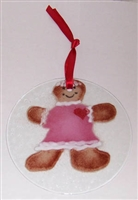 Gingerbread Girl Suncatcher