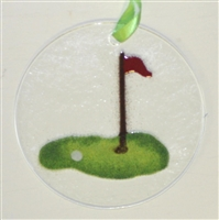 Golf Suncatcher