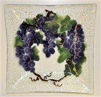 Grape Large Square Platter