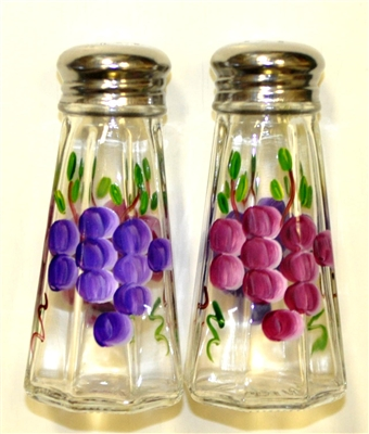 Grape Salt and Pepper Shakers
