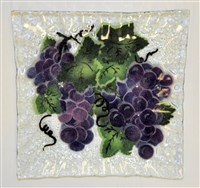 Grape Small Square Plate