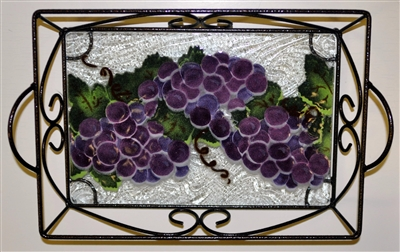 Grape Small Tray (with Metal Holder)