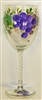 Grape White Wine Glass