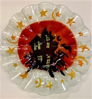 Haunted House 10.75 inch Plate