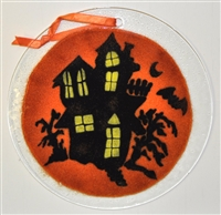 Haunted House 7 inch Suncatcher