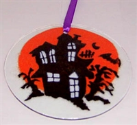 Haunted House Suncatcher