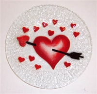 Heart with Arrow 9 inch Plate