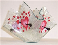 Heart with Arrow Large Candleholder