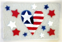 Heart Flag Small Tray (Insert Only)