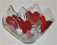 Hearts Large Candleholder
