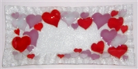 Hearts Rectangle Plate