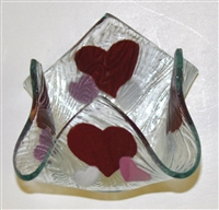 Hearts Small Candleholder