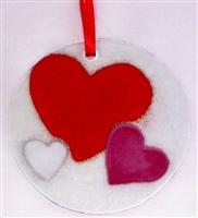 Hearts Suncatcher