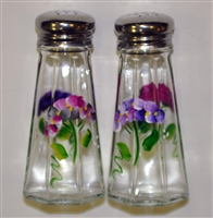 Hydrangea Salt and Pepper Shakers