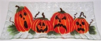 Jack O'Lantern Rectangle Plate