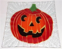 Jack O'Lantern Small Square Plate