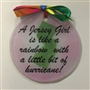 Jersey Girl Hurricane Suncatcher