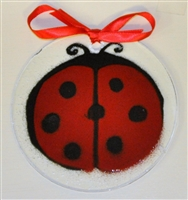 Lady Bug Suncatcher
