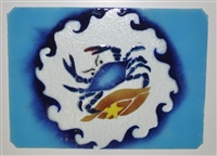 Large Blue Claw Crab Tray (Insert Only)