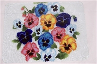 Large Bold Pansy Tray (Insert Only)