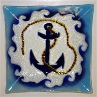 Large Square Anchor Platter