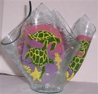 Large Sea Turtle Candleholder