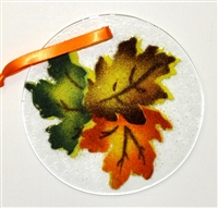 Fall Leaves Suncatcher