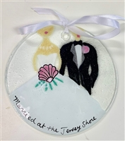 """Married at the Jersey Shore"" Suncatcher"