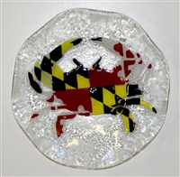 Maryland Flag Crab 9 inch Bowl