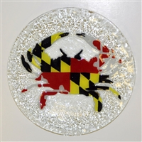 Maryland Flag Crab 9 inch Plate