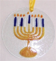 Menorah Suncatcher