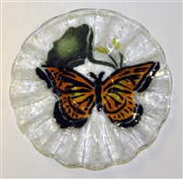 Monarch Butterfly 7 inch Bowl