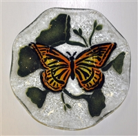 Monarch Butterfly 9 inch Bowl