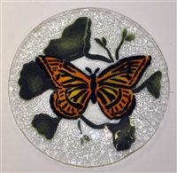 Monarch Butterfly 9 inch Plate