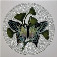 Multicolor Butterfly 9 inch Plate