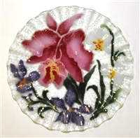 Orchid 10.75 inch Plate