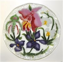 Orchid 12 inch Plate