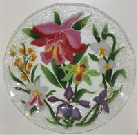 Orchid 14 inch Platter