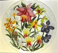Orchid 16 inch Platter