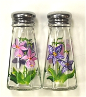 Orchid Salt and Pepper Shakers