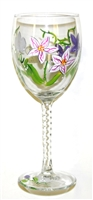 Orchid White Wine Glass